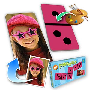 Custom Color Dominoes,Kids  (Vertical Photo)