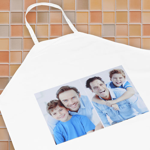Two Collage Personalized Adult Apron