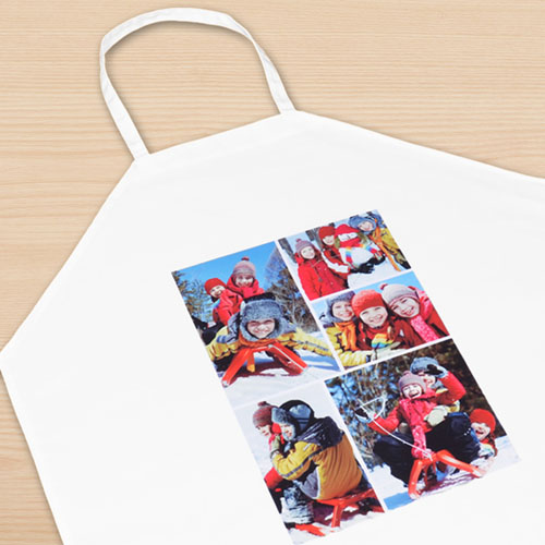 Five Collage Personalized Adult Apron