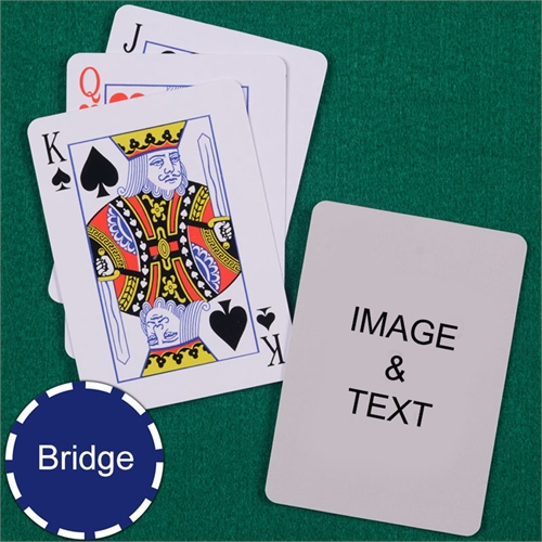 Bridge Size Playing Cards Standard Index