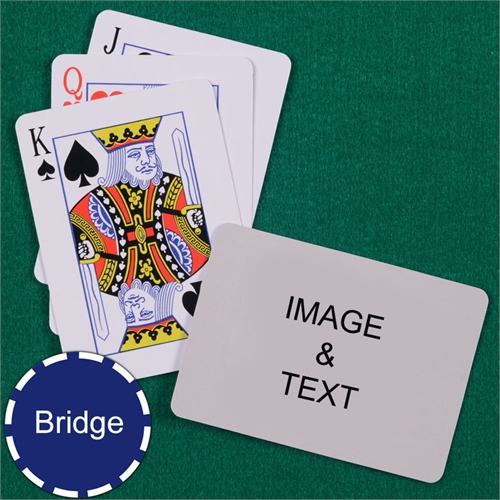 Bridge Size Playing Cards Standard Index Landscape