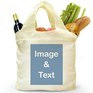 Folded Shopper Bag, Portrait Image