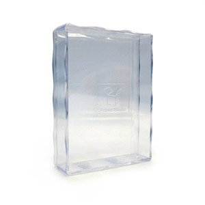 2.5X3.5 Inch Clear Plastic Box For 54 Poker Size Playing Card Deck