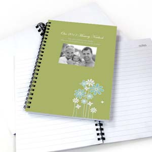Create Your Own Modern Floral Photo Notebook