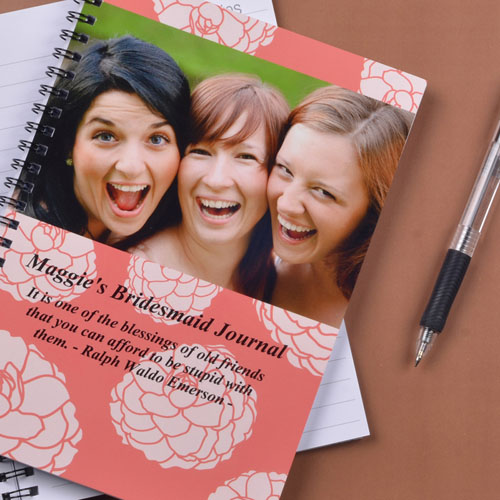 Create Your Own Vibrant Flowers Photo Notebook