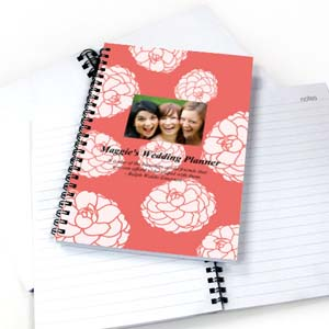 Create Your Own Vibrant Flowers Star Photo Notebook
