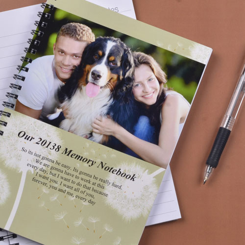 Create Your Own Field Of Dandelion Photo Notebook