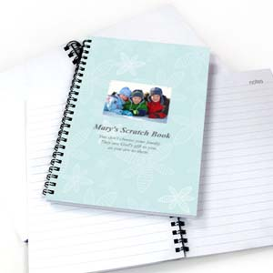 Create Your Own Beautiful Floral Star Photo Notebook
