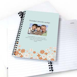 Create Your Own Wildflowers Photo Notebook