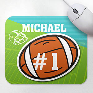 Personalized Athletic Mousepad, Football
