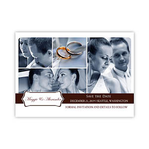 Create My Own Feeling The Love Collage Invitation Cards