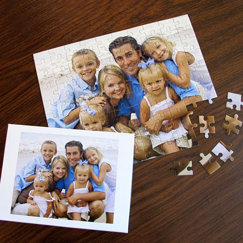 Photo Gallery 12 or 50 or 100 Piece Puzzle