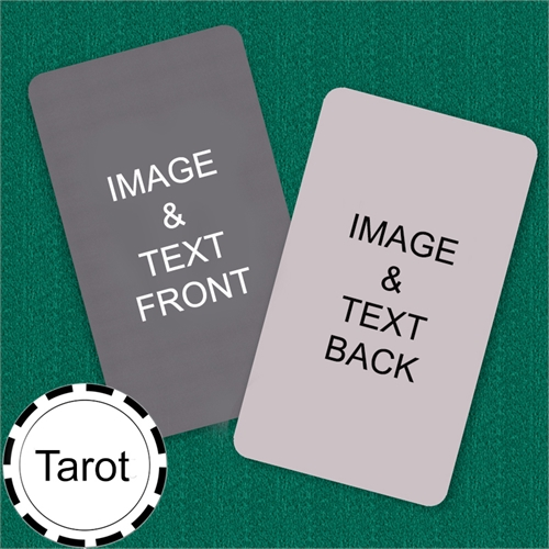 Tarot Size Custom Cards (Blank Cards)