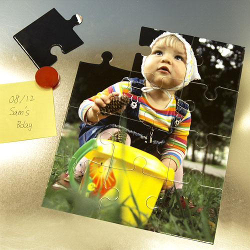 Magnetic Photo Gallery 12 Piece Puzzle