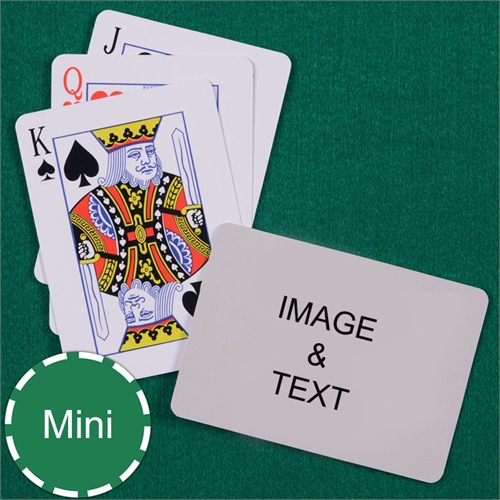 Mini Size Playing Cards Standard Index Landscape