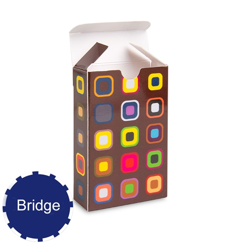 Personalized Tuck Box For Bridge Size Playing Cards