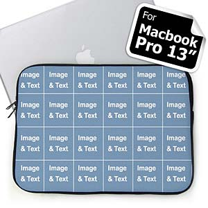 Personalized Instagram Twenty Four Collage Macbook Pro 13 Sleeve (2015)