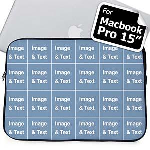 Personalized Instagram Twenty Four Collage Macbook Pro 15 Sleeve (2015)
