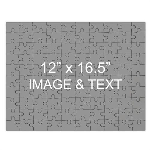 Personalized Magnetic 12X16.5 Personalized Photo Jigsaw Puzzle Photo Puzzle