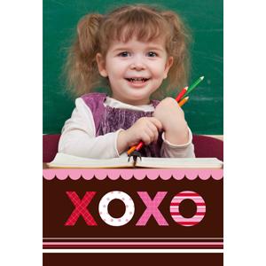 Xoxoxo Personalized Animated Invitation Card (4 X 6)