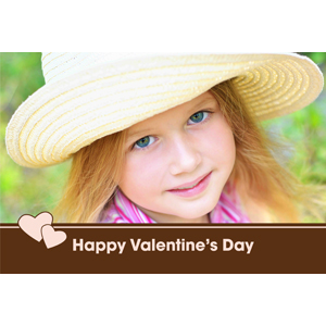 Happy Valentine's Day Personalized Animated Invitation Card (4 X 6)