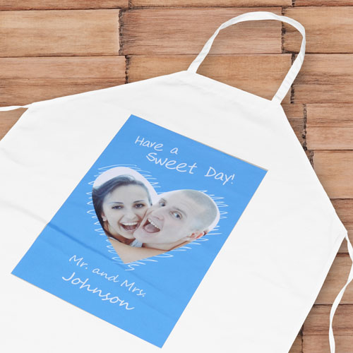 She Paints My Heart Personalized Adult Apron