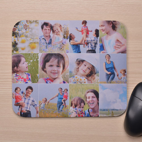 Instagram Twelve Collage Mousepads