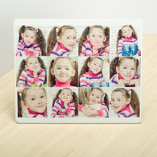 Instagram Twelve Collage Tray Puzzle
