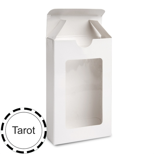 78 Tarot Size Cards Window Tuck Box