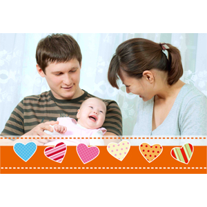 Sweet Love Personalized Animated Invitation Card (4 X 6)