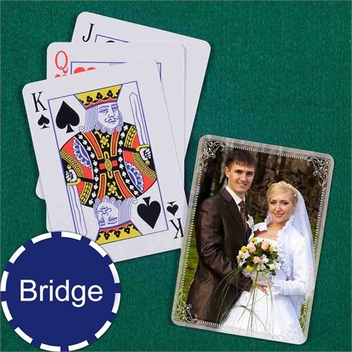 Wedding Bridge Size Silver Vintage Standard Index