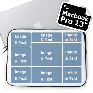 Personalized Nine Collage Macbook Pro 13