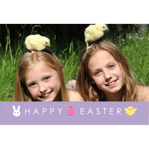 Celebrate Easter 3D Photo Card