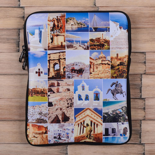 Twenty-One Collage iPad Sleeve for Facebook Photos