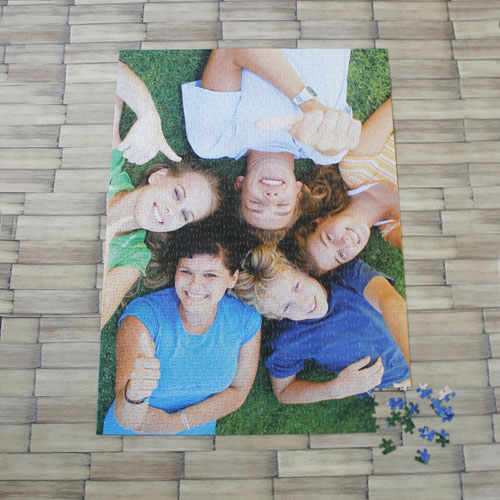 1000 Piece 19.75X28 Inch Portrait Personalized Photo Jigsaw Puzzle
