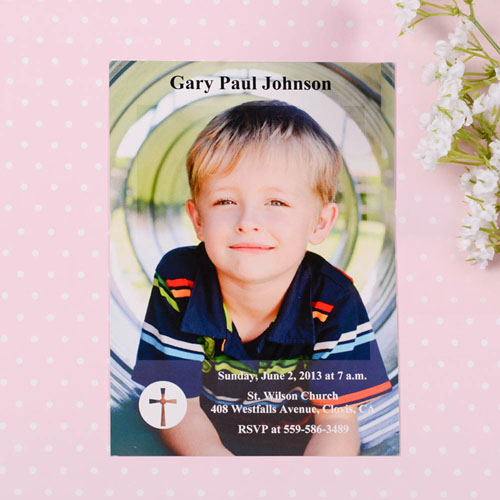 Print Your Own Shining Day Communication Photo Invitation Cards