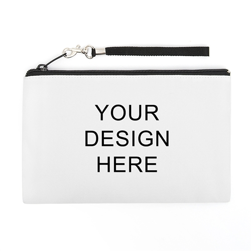 Personalized Custom Full Color Print (2 Side Same Image) Wristlet Bag (5x8)