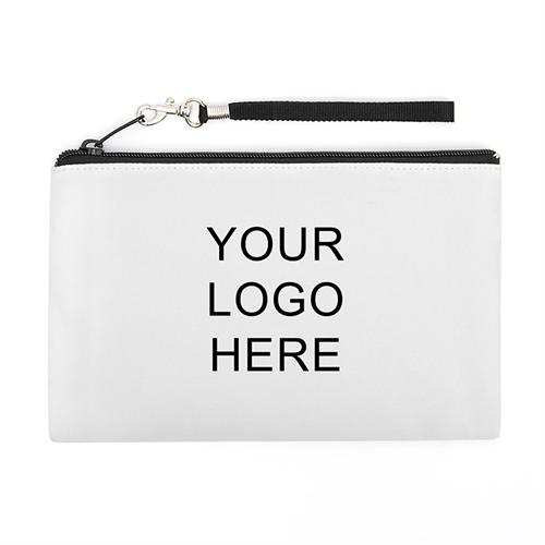 Personalized Custom Imprint Promotional (2 Side Same Image) Wristlet Bag (5x8)