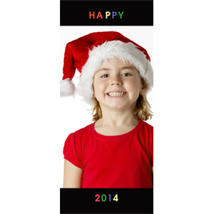 Personalized Happy 2013 Lenticular Bookmark