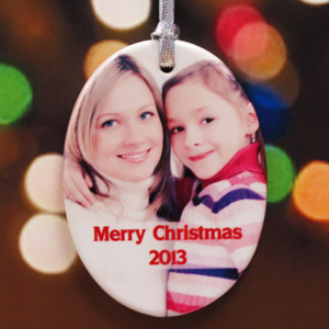 Personalized Love Infinity Ornaments