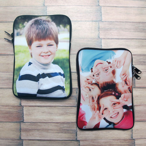 Custom 2-sided iPad Mini Sleeve, Portrait Image