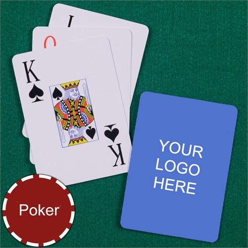 Custom Printed Standard Size Jumbo Index Playing Cards
