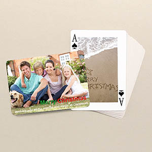 Reunion Poker Size Classic Custom 2 Sides Landscape Back Playing Cards