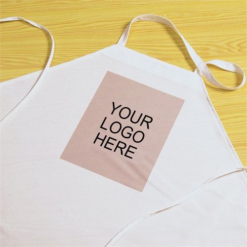 Custom Printed Small Portrait Logo Adult Apron