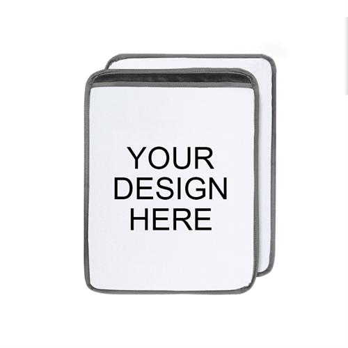 Custom Design Premium Ultra-Plush Padded Sleeve for iPad (Portrait)