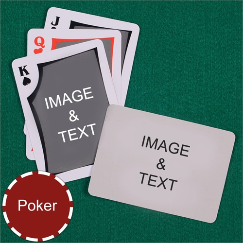 Poker Modern Custom 2 Side Landscape Playing Cards