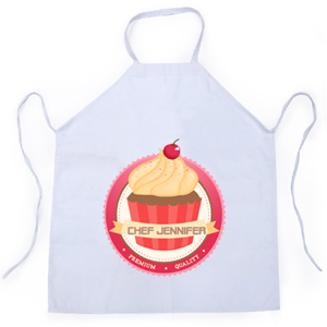 Cupcake Personalized Adult Apron
