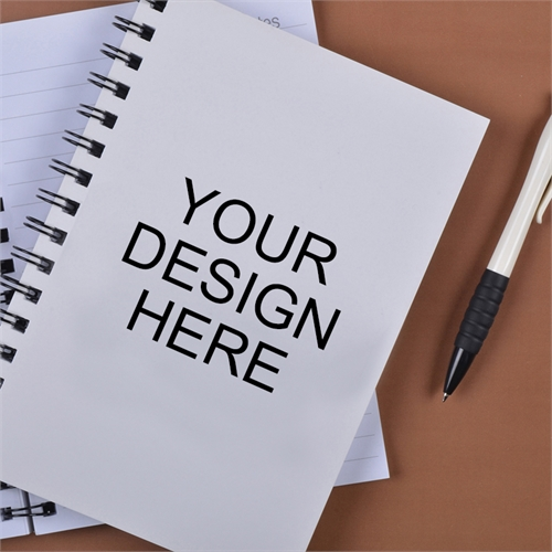 Print Your Design Here Notebook