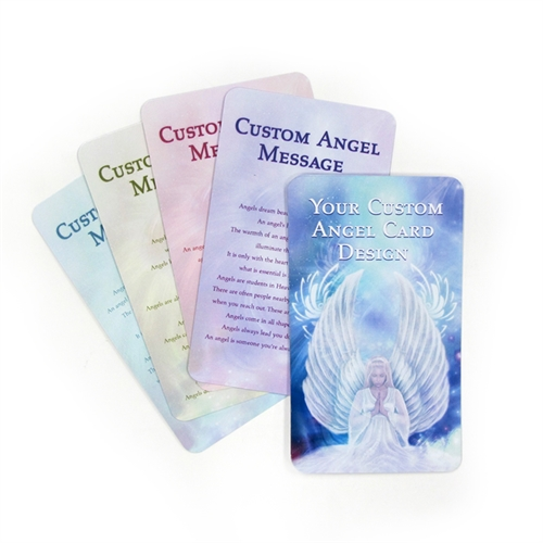 Custom Angel Healing Message Cards
