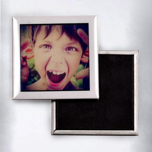 Instagram Picture Square Photo Magnet